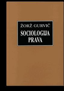 Žorž Gurvič: Sociologija prava