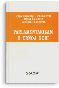 Olga Popović-Obradović: Parlamentarizam u Crnoj Gori
